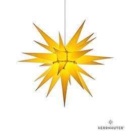 Herrnhuter Stern I7 gelb Papier  -  70cm