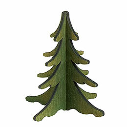 Holz - Steckbaum gr�n  -  8cm