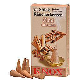 Incense cones  -  Cinnamon