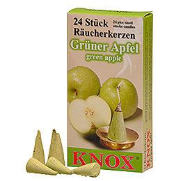 Incense cones  -  Green apple