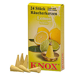 Incense cones  -  Lemon