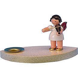 Kerzenhalter Engel mit Geige  -  7cm