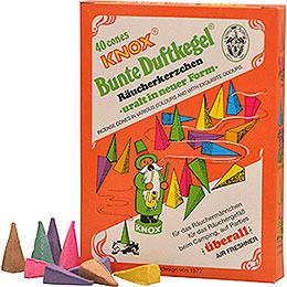 Knox Incense Cones  -  Vintage GDR