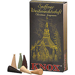 Knox Incense cones  -  Seiffen Christmas fragrance mix
