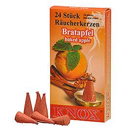 Knox R�ucherkerzen  -  �Bratapfel