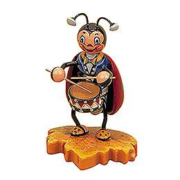 Ladybug with Drum  -  8cm / 3inch