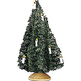 Little Christmas tree, set of five  -  10cm / 3.9inch