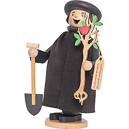 Martin Luther with apple tree  -  17cm / 6.7inch
