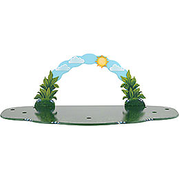 Meadow with sky arch  -  80x38x27cm / 31,5x15x10,5inch