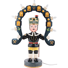 Miner with light arch  -  53cm / 21inch