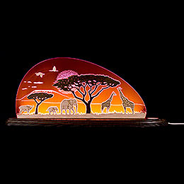 "Motive light ""Safari""  -  47x19,6cm / 18.5x7.7inch"