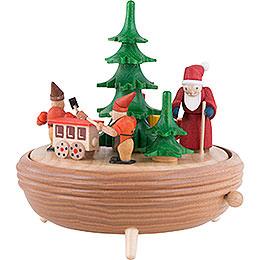 Music box Christmas workshop  -  18cm / 7.1inch