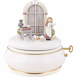 "Music box ""Three nuts for Cinderella""  -  16,5cm / 6.5inch"