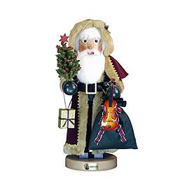 Nussknacker Weihnachtsmann dunkelrot  -  100cm