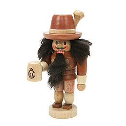 Nutcracker Bavarian natural colors  -  10,5cm / 4 inch