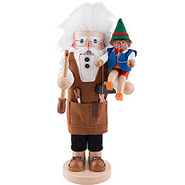Nutcracker Geppetto  -  40cm / 16 inch  -  Limited Edition