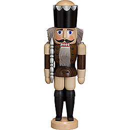 Nutcracker  -  King  -  Ash  -   Braun  -  29cm / 11 inch