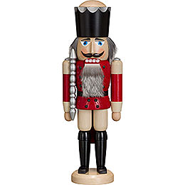 Nutcracker King  -  Ash  -   red  -  38cm / 15 inch