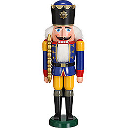 Nutcracker King blue  -  38cm / 15 inch