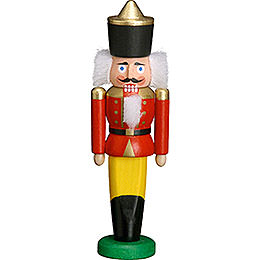 Nutcracker King red  -  9cm / 3.5 inches