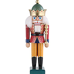 Nutcracker King with Crown  -  29cm / 11 inch