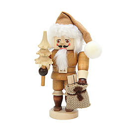 Nutcracker Santa Claus natural colors  -  16,0cm / 6 inch