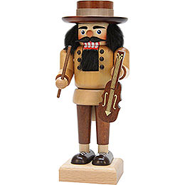 Nutcracker fiddler natural  -  22,5cm / 8.8inch