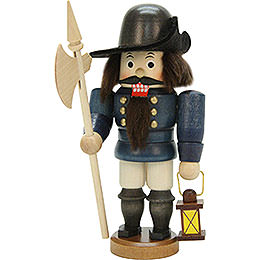 Nutcracker night watch man glazed  -  15,5cm / 6inch