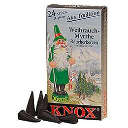 R�ucherkerzen  -  Weihrauch
