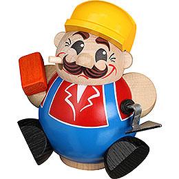 Räuchermännchen Bauarbeiter  -  11cm