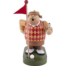 Räuchermännchen Golfer  -  19cm