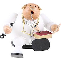 Räuchermännchen Kantenhocker Doktor  -  14cm