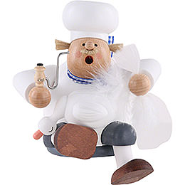 Räuchermännchen Kantenhocker Koch mit Gans  -  17cm