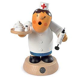 Räuchermännchen Krankenschwester  -  16cm