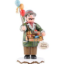 Räuchermännchen Winterkinder Spielzeughändler  -  20cm