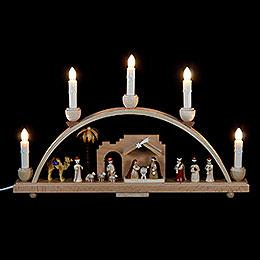 Schwibbogen Christi Geburt  -  48 x 28cm