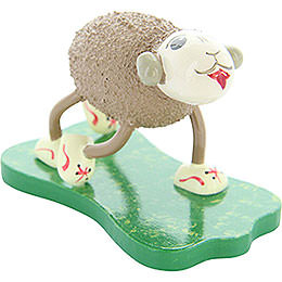 "Sheep ""Flitzi"", running  -  4,5cm / 1.8inch"