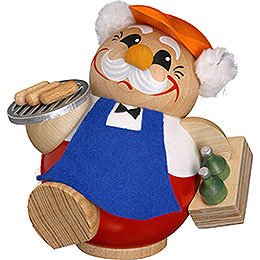 Smoker BBQ Man  -  12cm / 5 inches