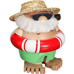 Smoker Ball Figur Santa incognito  -  11cm / 5 inch