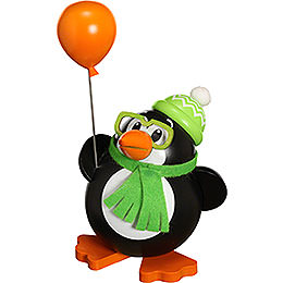 Smoker Ball Figur Smoker Penguin  -  12cm / 5 inch
