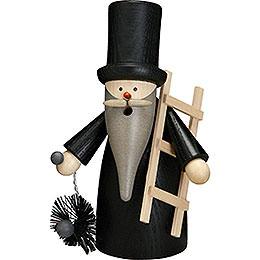 Smoker Chimney sweeper gnome  -  16cm / 6 inch