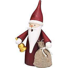Smoker Christmas Gnome  -  16cm / 6 inch