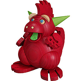 Smoker Fire Dragon  -  12cm / 4.7inch