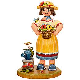 Smoker Gardener woman  -  21cm / 8inch