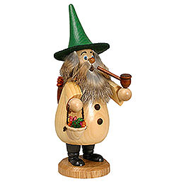 Smoker  -  Herb - Gnome Natural Colors  -  19cm / 7 inch
