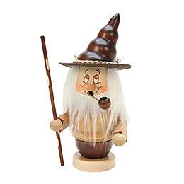 Smoker  -  Mini - Gnome with Stick  -  16,5cm / 6,5 inch