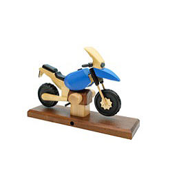 Smoker Motorcycle Boxer RS blue 27 x 18 x 8cm / 11 x 7 x 3 inch