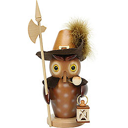 Smoker Nightwatch Owl natural  -  22,0cm / 8.7inch