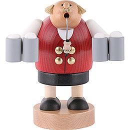 Smoker Octoberfest waiter  -  18cm / 7 inch