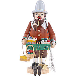 Smoker Ornament salesman  -  7 inch  -  18cm